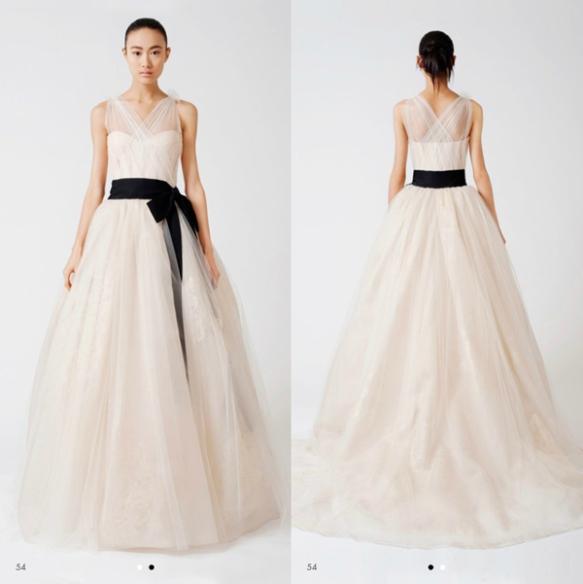 el vestido de novia ideal para un cuerpo con forma de pera (o